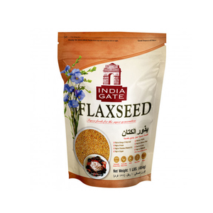 India Gate Flax Seed Pouch 454g