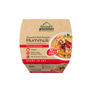 Smart Gourmet Classic Roasted Red Pepper Hummus 225g