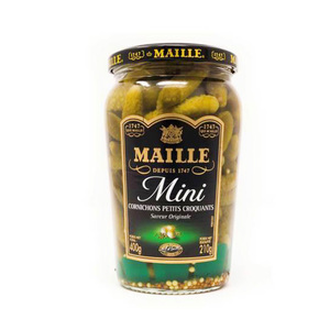 Maille Gherkins Sweet Mini 210g