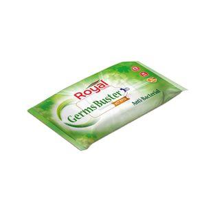 Royal Antibacterial Wet Wipes 40s