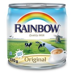 Rainbow Evaporated Milk 8x170g