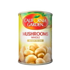 California Garden Whole Mushrooms 3x425g