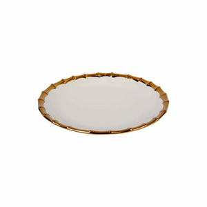 Master Chef Gold Dotted Round Plate 12inch
