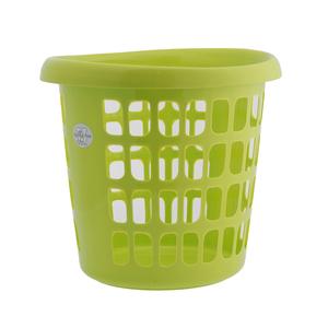 JCJ Plastic Laundry Basket # 1134 1pc