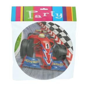 Grand Prix Paper Plate 6pcs set