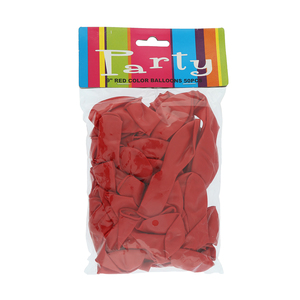 Balloon Assorted Red 50pcs pack