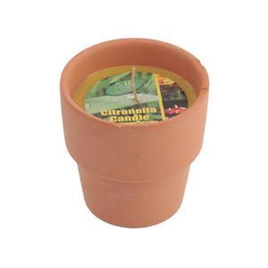 Citronella Candle Pot 1pc