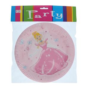 Princess Paper Plate 6pcs pack