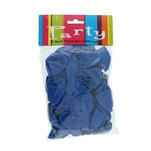 Balloon Assorted Blue 50pcs pack