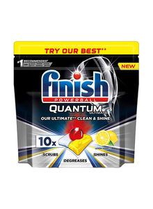 Finish Quantum Ultimate Dishwasher Tablets 4x10s