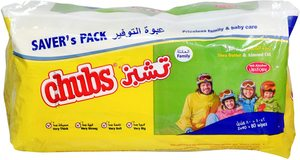 Chubs Almond & Shea Butter Family Wipes Flow Pack 2pack