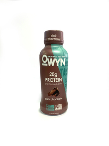 Owyn Plant-based Protein Drinks Dark Chocolate 1x12oz