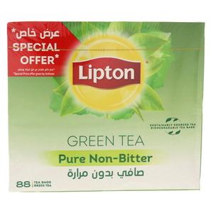 Lipton Green Tea Pure Non Bitter 88s