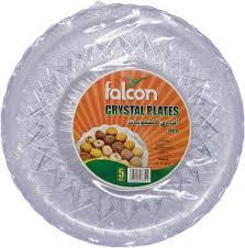 Falcon Retail Crystal Plate 30cm 5s