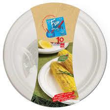 Fun Bio Moulded Fibre Plate 10s
