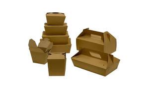Fun Kraft Eco Paper Food Pail 500ml 1pc