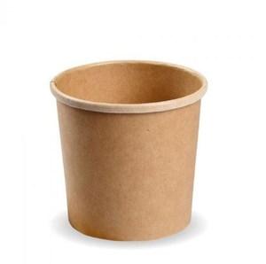 Fun Kraft Eco Paper Multi Purpose Container Clear Lid 500ml 1pc