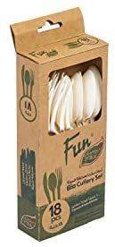 Fun Heavy Duty Eco  Bio Spoons 1pc