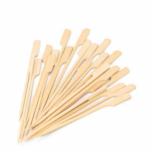 Fun Eco Bamboo Skewers 15cm Bow 100s