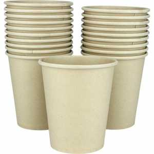 Fun Eco Bamboo Paper Cups 7oz 20s