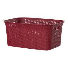Cosmoplast Rattan Laundry Basket 1pc
