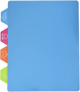 Cuisine Art Cut & Drain Board Blue 33x26cm 1pc