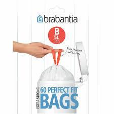 Brabantia Bin Liner 5L 60 Bags 60bags