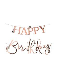 Alras Letter Banner Happy Birthday 1pc