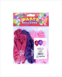 "Alras Balloons Sweet-16 12"" 8pcs"