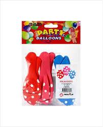 """Alras Balloons Polka Dots 12"""" 6pcs"""