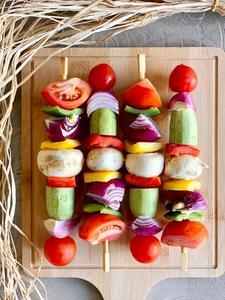 Vegetable Skewers 4pcs