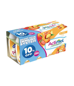 Actimel Multi Fruits Drink 8x93ml