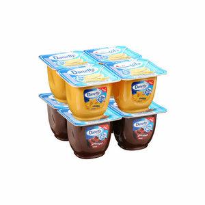 Danette Vanilla & Chocolate Dessert 8x90g