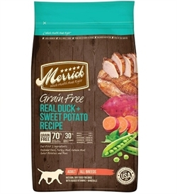 Merrick Grain Free Real Duck With Sweet Potato Recipe 1.8kg