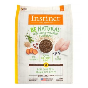 Instinct Be Natural Kibble Chicken & Brown Rice 25lb