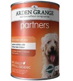Arden Grange Partners Chicken, Rice & Vegetables 395g