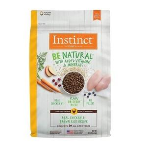 Instinct Be Natural Kibble Cat Chicken & Brown Rice 13.3lb