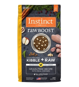 Instinct Raw Boost Kibble Chicken 4lb