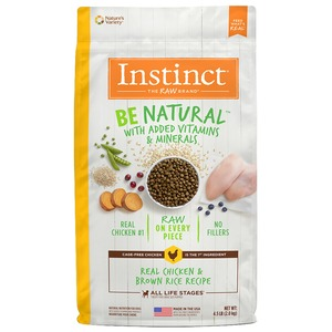 Instinct Be Natural Kibble Chicken & Brown Rice 4.5lb