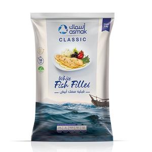 Asmak White Fish Fillet 10x1000g Bag