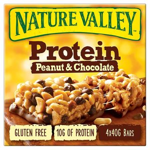 Nature Valley  Protein Bar Peanut And Chocolate Box 4x40g