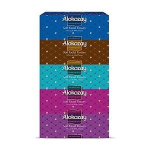 Alokozay Facial Tissue 5x200s