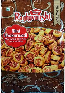 Raghuvanshi Mini Bhakarwadi 180g