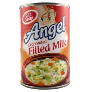 Angel Evaporated Filled Milk 410ml