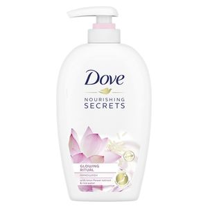 Dove Nourishing Secrets Glowing Ritual Hand Wash With Lotus Flower Extract And Rice Milk 250ml