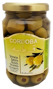 Cordoba Stuffed Green Olives 3x200g