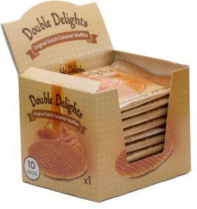 Double Delight Caramel Waffles 50g