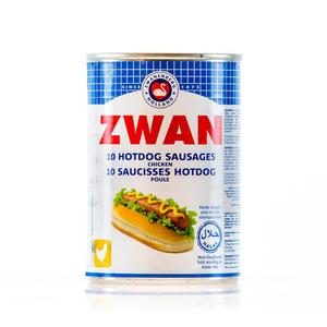 Zwan Beef Hot Dog Sausages 3x200g