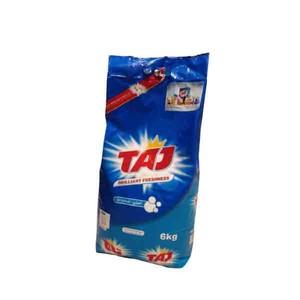 Taj Top Load Green Bag Laundry Detergent Powder 6kg