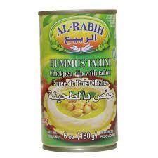 Al Rabih Tahineh Hummos 4x380g